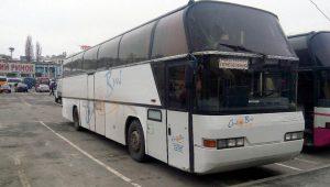 Автобус Киев — Донецк — Киев через Россию