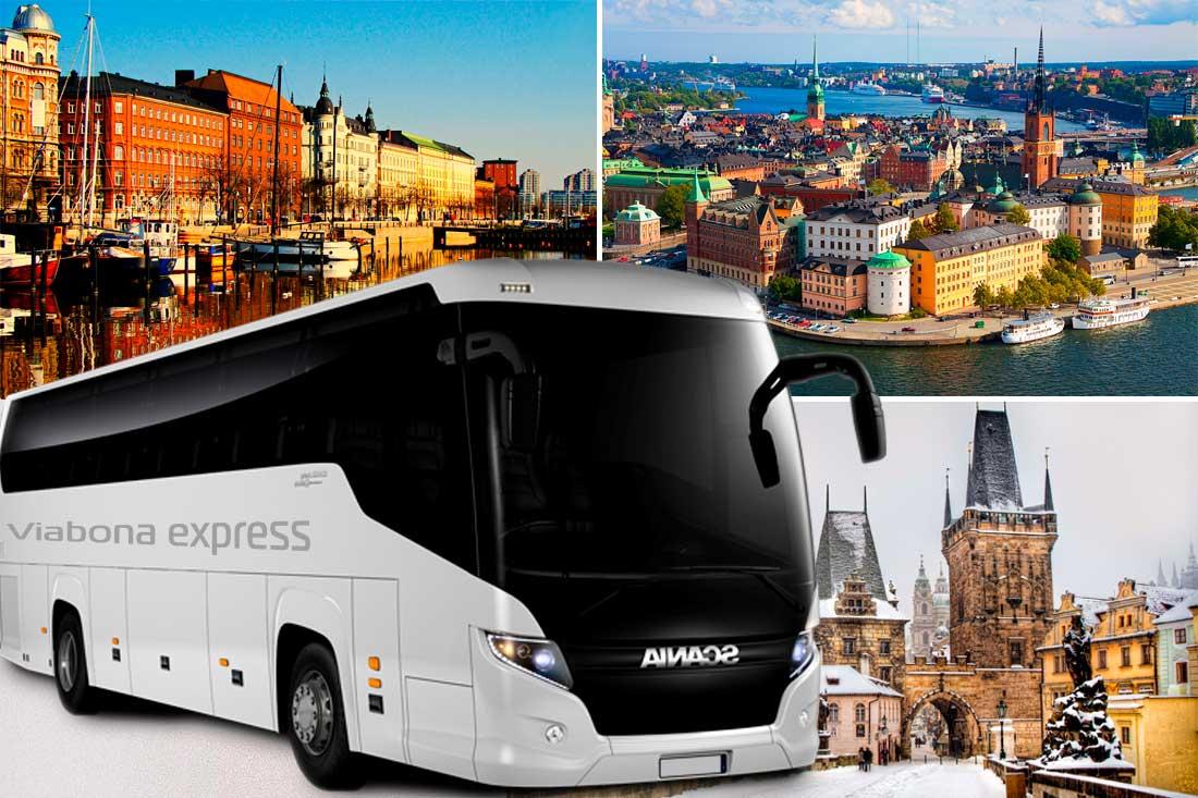 Экскурсионные туры на автобусе
