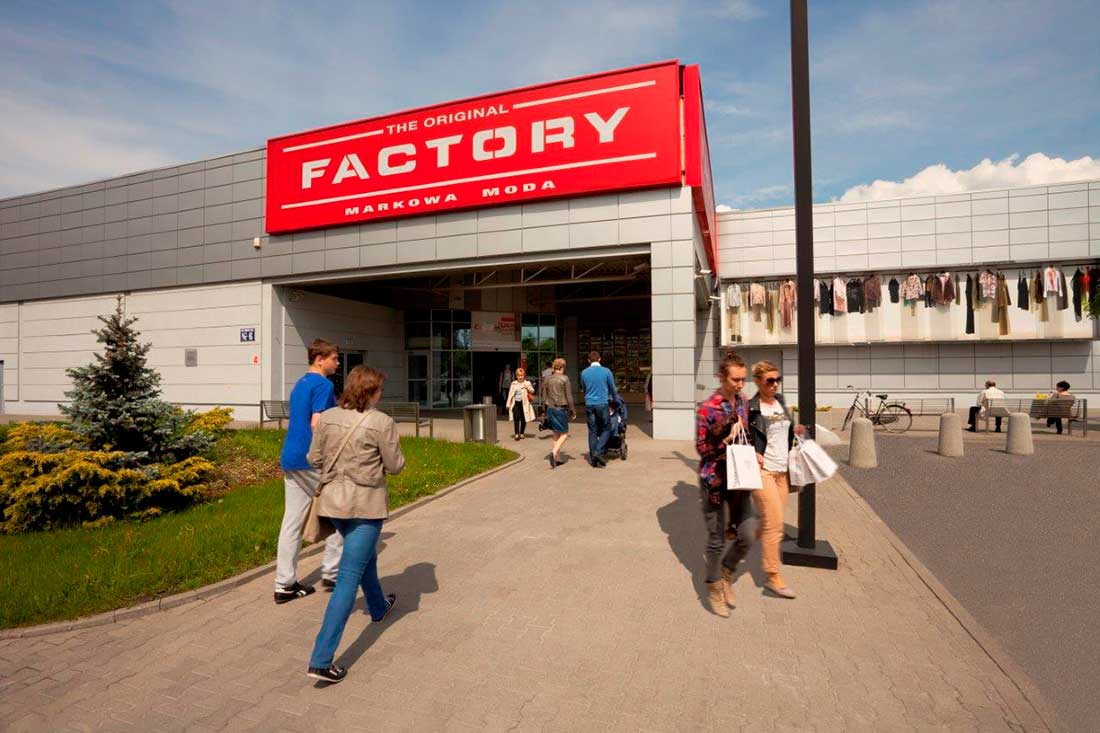 Factory markowa moda