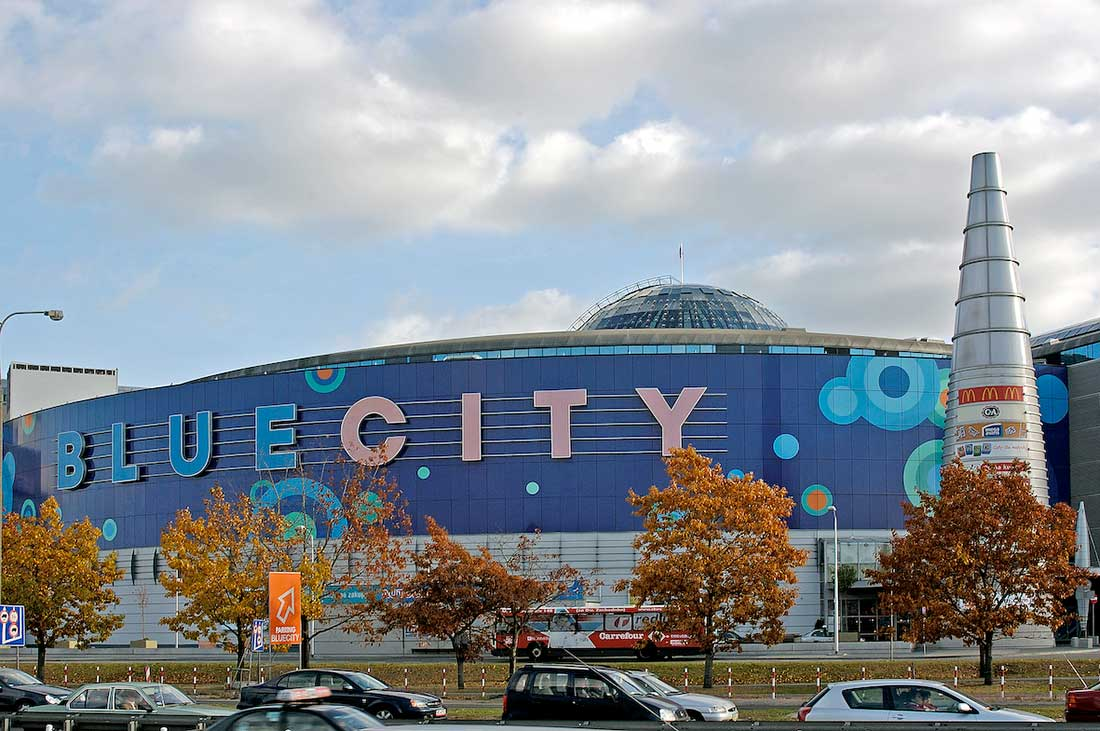Galeria Warszawa Blue City