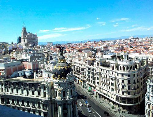 Королевский город Мадрид!