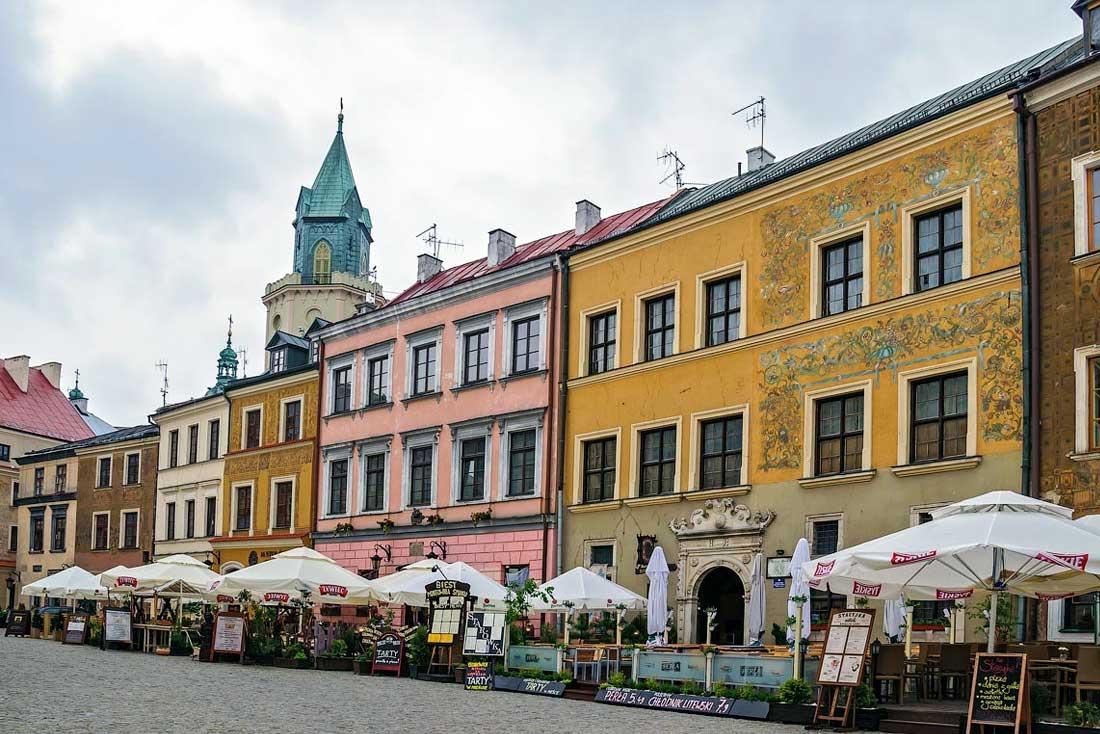 Рыночная площадь в Люблине