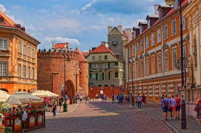 Варшава туристическая