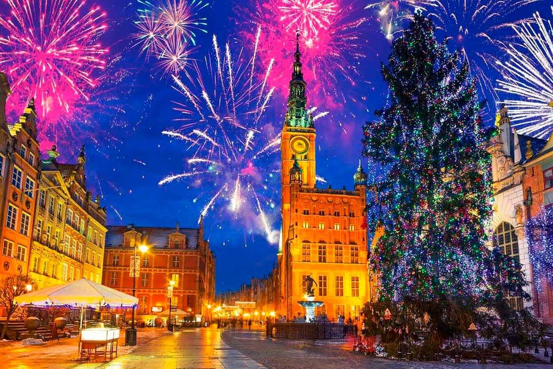 Новогодняя Польша